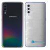 Galaxy A70 Adesivo Skin Película Tras FX Pixel Branco