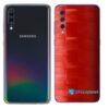 Galaxy A70 Adesivo Skin Película Tras FX Pixel Vermelho