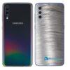 Galaxy A70 Adesivo Skin Película Tras Metal Escovado