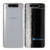 Galaxy A80 Adesivo Skin Película Tras FX Couro Negro