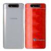 Galaxy A80 Adesivo Skin Película Tras FX Dimension Red