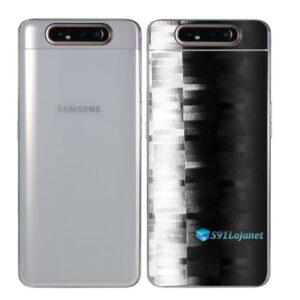 Galaxy A80 Adesivo Skin Película Tras FX Pixel Black