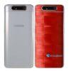 Galaxy A80 Adesivo Skin Película Tras FX Pixel Vermelho