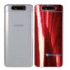 Galaxy A80 Adesivo Skin Película Tras Metal Gold Red