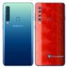 Galaxy A9 Adesivo Skin Película Traseira FX Dimension Red