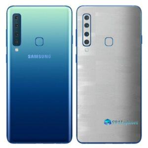 Galaxy A9 Adesivo Skin Película Traseira FX Pixel Branco
