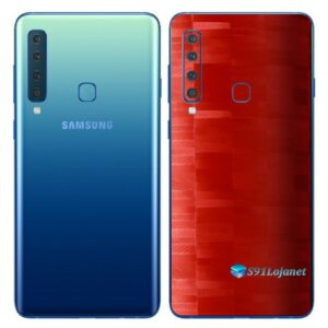 Galaxy A9 Adesivo Skin Película Traseira FX Pixel Vermelho