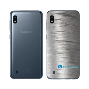 Galaxy M10 Adesivo Skin Película Tras Metal Escovado