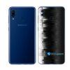 Galaxy M20 Adesivo Skin Película Tras FX Pixel Black