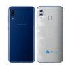 Galaxy M20 Adesivo Skin Película Tras FX Pixel Branco