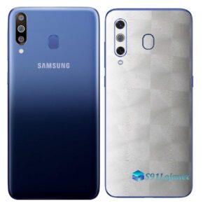 Galaxy M30 Adesivo Skin Película Tras FX Dimension Branco