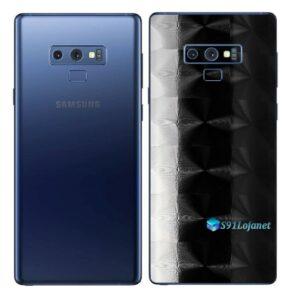 Galaxy Note9 Adesivo Skin Película Tras FX Dimension Black