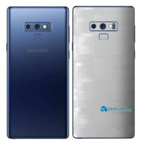 Galaxy Note9 Adesivo Skin Película Tras FX Pixel Branco