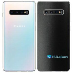 Galaxy S10 5G Adesivo Skin Película Tras FX Deep Black