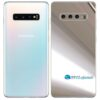 Galaxy S10 5G Adesivo Skin Película Tras Metal Cromo