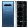 Galaxy S10+ Adesivo Skin Película Traseiro FX Dimension Black