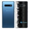 Galaxy S10+ Adesivo Skin Película Traseiro FX Pixel Black