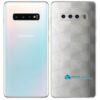 Galaxy S10 Plus Adesivo Skin Película Tras FX Dimension Branco