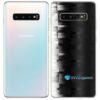 Galaxy S10 Plus Adesivo Skin Película Tras FX Pixel Black