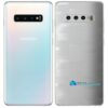 Galaxy S10 Plus Adesivo Skin Película Tras FX Pixel Branco