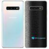 Galaxy S10 Plus Adesivo Skin Película Tras FX Preto Escovado