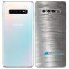 Galaxy S10 Plus Adesivo Skin Película Tras Metal Escovado