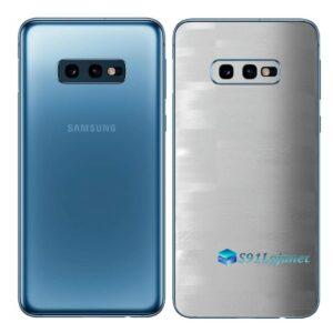 Galaxy S10e Adesivo Skin Película Tras FX Pixel Branco
