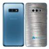 Galaxy S10e Adesivo Skin Película Tras Metal Escovado
