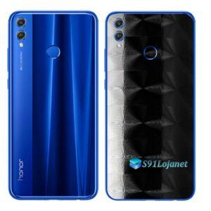 Huawei Honor 8x Adesivo Skin Película FX Dimension Black