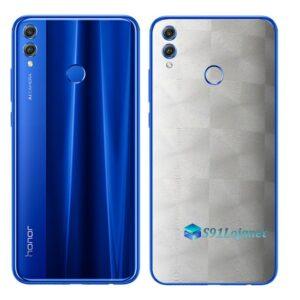 Huawei Honor 8x Adesivo Skin Película FX Dimension Branco