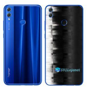Huawei Honor 8x Adesivo Skin Película FX Pixel Black