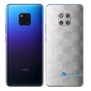 Huawei Mate 20 Pro Adesivo Skin Película FX Dimension Branco