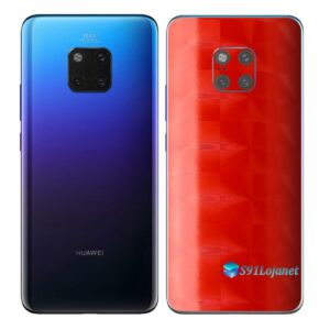Huawei Mate 20 Pro Adesivo Skin Película FX Dimension Red