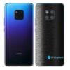 Huawei Mate 20 Pro Adesivo Skin Película FX Preto Escovado