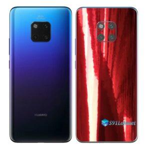 Huawei Mate 20 Pro Adesivo Skin Película Metal Gold Red