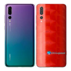 Huawei P20 PRO Adesivo Skin Película FX Dimension Red