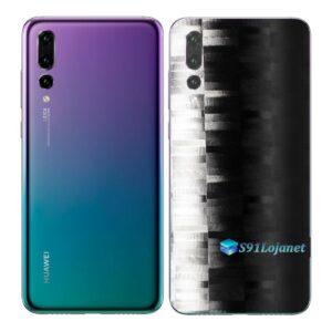 Huawei P20 PRO Adesivo Skin Película FX Pixel Black