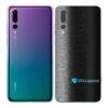 Huawei P20 PRO Adesivo Skin Película FX Preto Escovado
