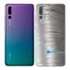 Huawei P20 PRO Adesivo Skin Película Metal Escovado