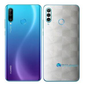 Huawei P30 Adesivo Skin Película Traseira FX Dimen Branco