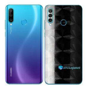 Huawei P30 Adesivo Skin Película Traseira FX Dimension Black