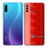 Huawei P30 Adesivo Skin Película Traseira FX Dimension Red