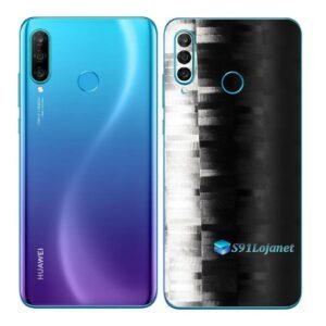 Huawei P30 Adesivo Skin Película Traseira FX Pixel Black