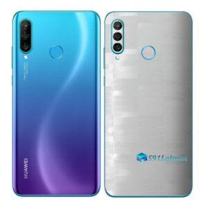 Huawei P30 Adesivo Skin Película Traseira FX Pixel Branco