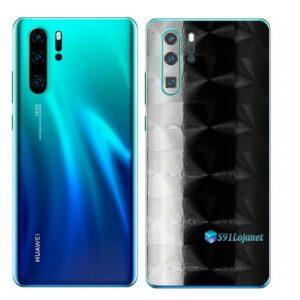 Huawei P30 PRO Adesivo Skin Película FX Dimension Black