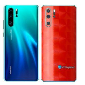 Huawei P30 PRO Adesivo Skin Película FX Dimension Red