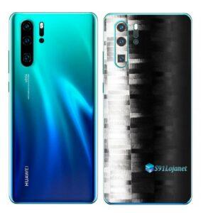 Huawei P30 PRO Adesivo Skin Película FX Pixel Black