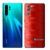 Huawei P30 PRO Adesivo Skin Película FX Pixel Vermelho