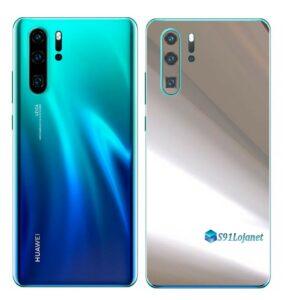 Huawei P30 PRO Adesivo Skin Película Metal Cromo
