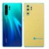 Huawei P30 PRO Adesivo Skin Película Metal Dourado
